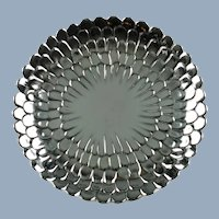 Vintage Tiffany & Co Sterling Silver Floriform Tray 25208