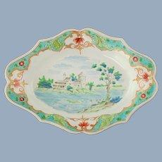Antique Dutch Delft Polychrome Faience Dish Pieter Adriaensz Kocks De Grieksche A