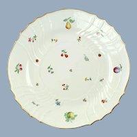"Large Vintage Richard Ginori 13"" Chop Plate Round Platter Val d'Orcia Pattern Vecchio Shape"