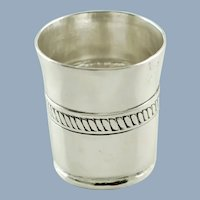 Vintage William Spratling Sterling Silver Shot Cup