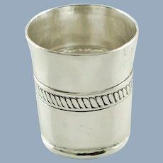 Vintage William Spratling Sterling Silver Shot Cup