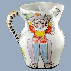 Vintage Giovanni DeSimone Ceramiche Hand Painted Sangria Siciliana Pitcher