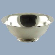 Vintage George C. Erickson Sterling Silver Centerpiece Revere Bowl