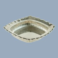 Vintage Whiting Sterling Silver Rectangular Open Vegetable Bowl Bon Bon Dish