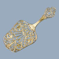 Antique Gorham Sterling Silver Reticulated Spoon 847 Circa 1895