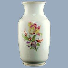 Large Vintage Meissen Porcelain Deutsche Blume Vase