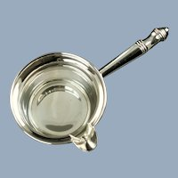 Vintage Revere Silversmiths Sterling Silver Pipkin Brandy Warmer