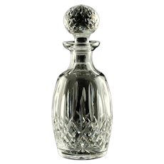 Vintage Waterford Lismore Irish Crystal Spirit Decanter With Multicut Stopper