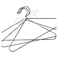 Fabulous Traditional Wire Doll Hangers Set of 3