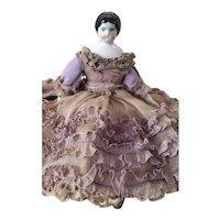 """7 1/2"""" Original Ruffled Dress China"""