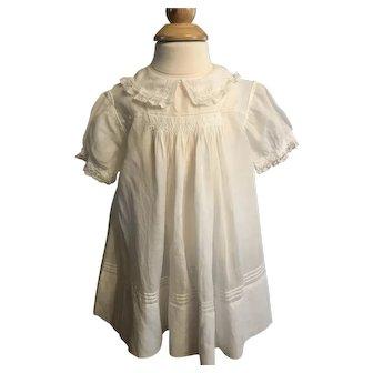 Batiste Baby Doll Dress/ Gorgeous Details