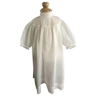 Pretty Batiste Antique Dress for Large Doll