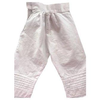 Slip and Pantaloon Set for Large China, Paper Mache, Parian
