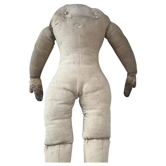 Mommy Made Old Cloth Body / Leather hands