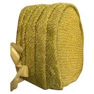 Vintage Pleated Doll Bonnet