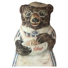 Kellogg's Advertising Cloth Bear