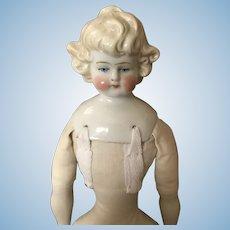 Darling Blonde Hertwig China Doll