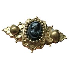 Mourning Pin/ Brooch