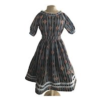 "Off Shoulder 1860's Style New Dress 30""+"