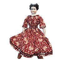 "Off Shoulder 1860's Style New Dress 20""-24"""