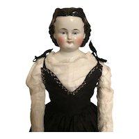 Antique Adelina Patti ABG China Head Doll