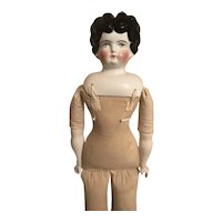 Hertwig Antique China Head Doll
