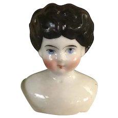 "2"" Antique China Doll Head"
