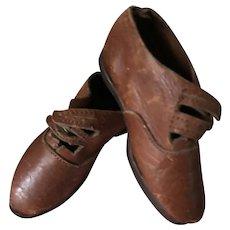 Fabulous Tiny Leather Shoes