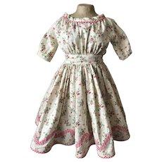 Fabulous Zig Zag Wide Neck Dress Style 1860