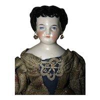 Pierced Ear China Doll Cabinet Size