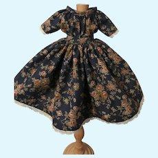 "Off Shoulder 1860's Style New Dress 13""-15"""