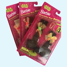 Barbie Hair Refills 3 Pack NRFB