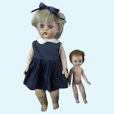 Two Vintage Dolls - Horsman / Eegee
