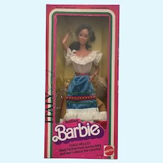 Italian Barbie- Dolls of the World Collection- NRFB