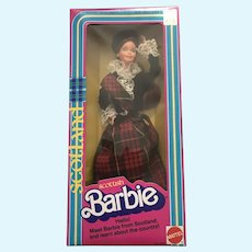 Scottish Barbie - Dolls of the World Collection- NRFB