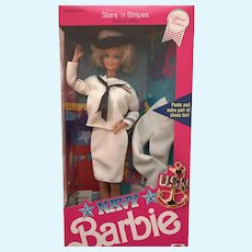 Stars and Stripes Special Edition Navy Barbie - NRFB