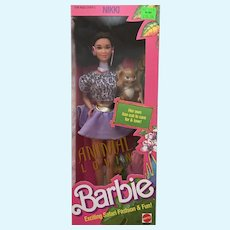 "Animal Lovin Barbie "" Nikki"" NRFB"