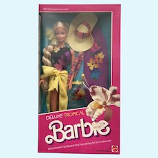 On Hold Deluxe Tropical Barbie - NRFB