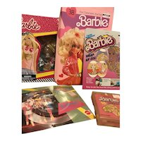 Grouping Of Barbie Collectibles