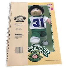 Cabbage Patch Kids Scrapbook/ Tablet