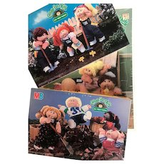 Set of 3 Cabbage Patch Kids Puzzles - NRFB