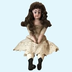 """17"""" Alma Made in Germany Bisque Doll- TLC"""