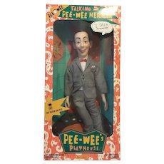 Talking Pee Wee Herman Doll -MINT