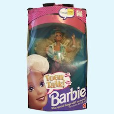 Teen Talk Barbie NRFB- Box Damage
