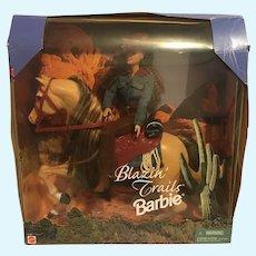 Blazin' Trails Barbie NRFB