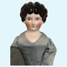 Unusual Hertwig China Head Doll