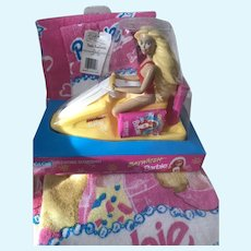 Barbie Bath Towel Set/ BayWatch Soap Dish