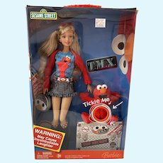 Tickle Me Elmo Barbie - NRFB