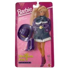Barbie Western Fun Fashions NRFP