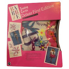 Barbie Trading Cards Deluxe First Edition Portfolio- NRFP